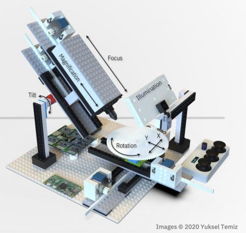 Microscopio con Raspberry Pi
